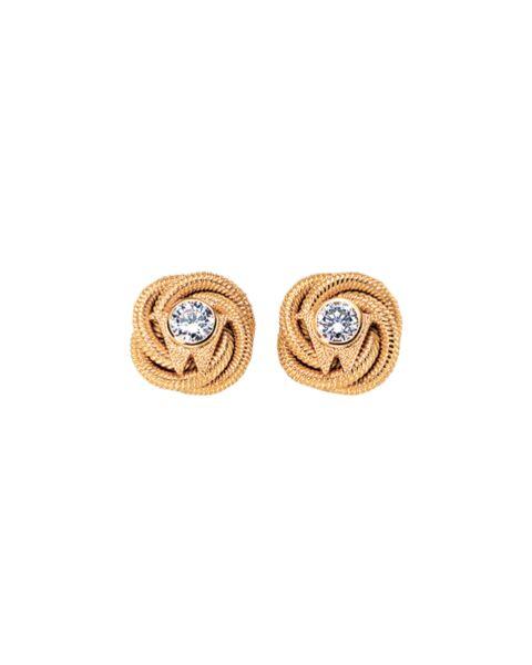 Ohrringe Brillantknoten