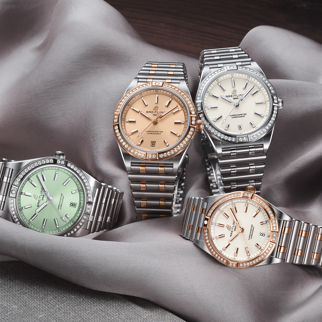 IN THE SPOTLIGHT: BREITLING'S CHRONOMAT FOR WOMEN