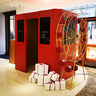 Send your interactive greeting card with Cartier and Les Ambassadeurs