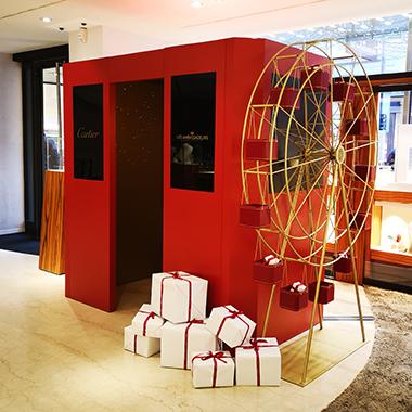 Versenden Sie Ihre interaktive Grusskarte mit Cartier und Les Ambassadeurs
