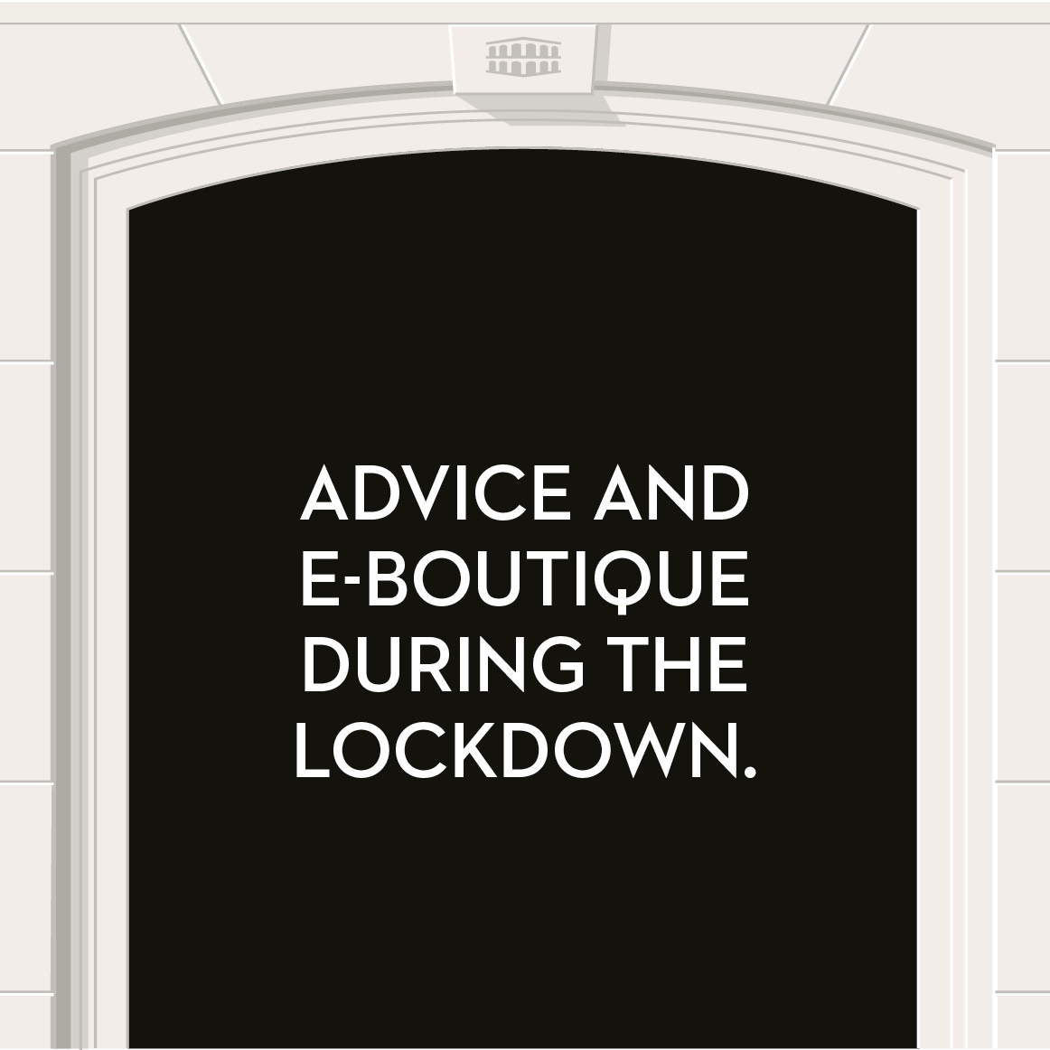 Coronavirus - advice and e-boutique during the lockdown.