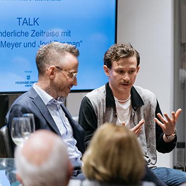 Les Ambassadeurs Talk mit Thomas Meyer und Joel Basman