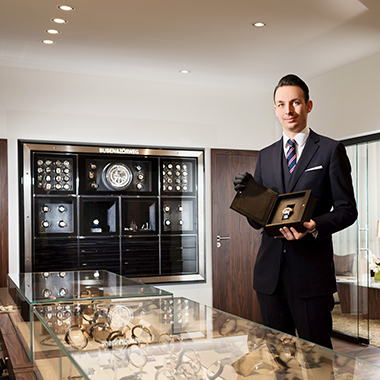 Exclusive watches in Lucerne