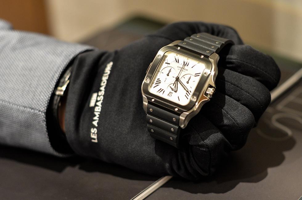 Santos de Cartier Chronograph, XL