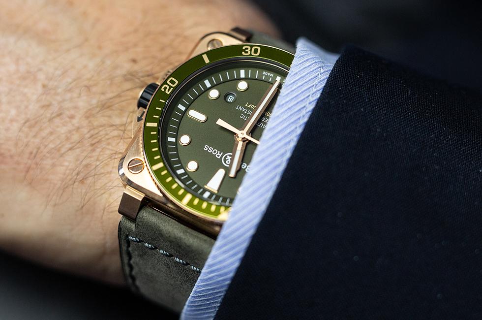Bell & Ross BR 03-92 Diver Green Bronze