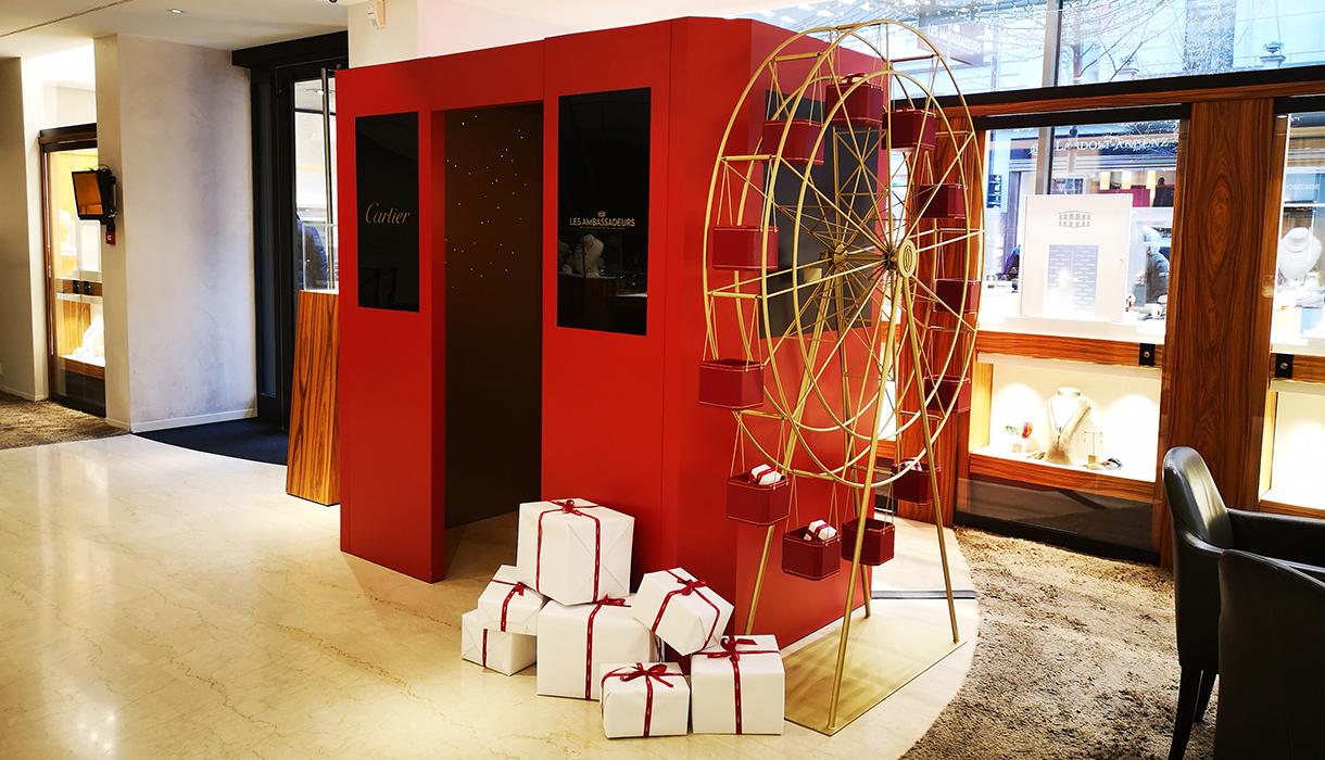 Cartier photo box