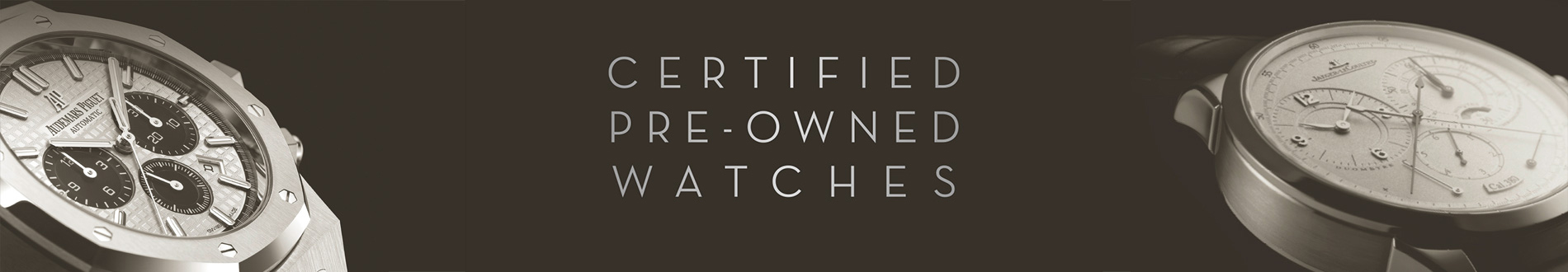 Certified Pre-Owened Watches