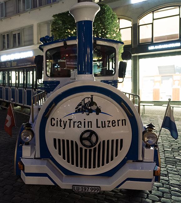 city train Lucerne