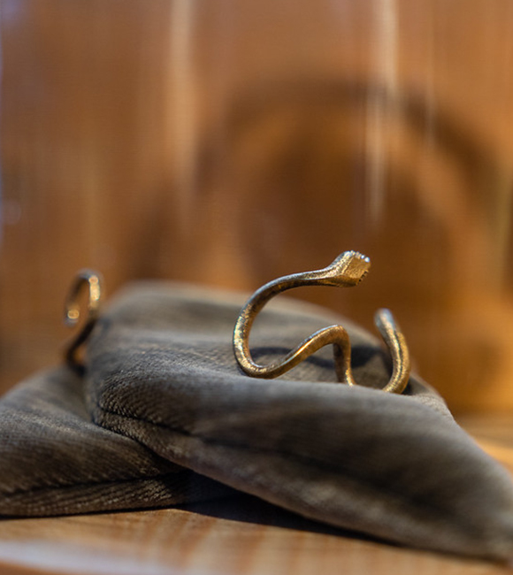 Ole Lynggaard Snake Ring