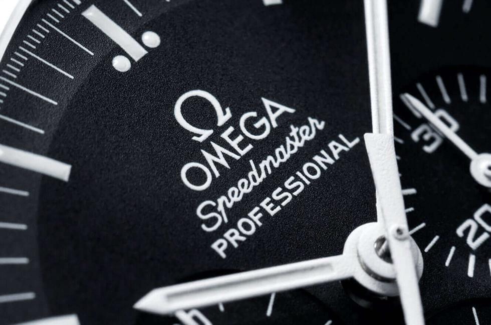 Omega Speedmaster Moonwatch Dial